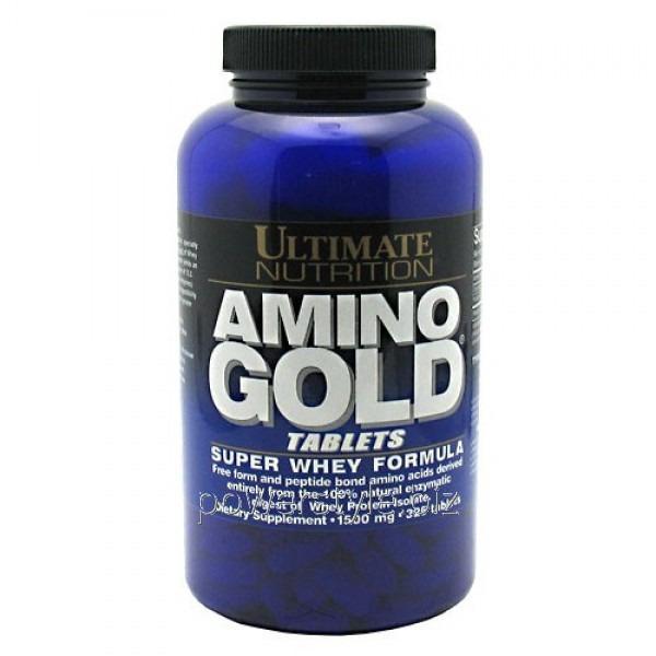 Аминокислота AMINO GOLD TABLETS 1500 MG (325 таблетс)