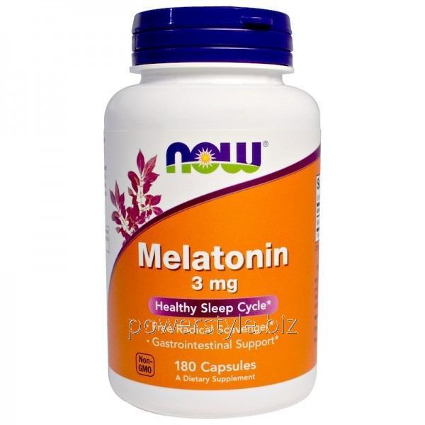 Минералы MELATONIN 3 mg (180 капсул)