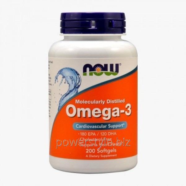 Минералы OMEGA-3 1000 mg (200 капсул)