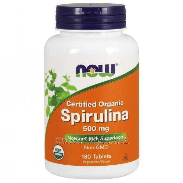 Минералы Spirulina 500 mg (180 таблетс)