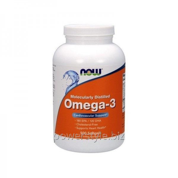 Минералы OMEGA-3 1000 mg (500 капсул)