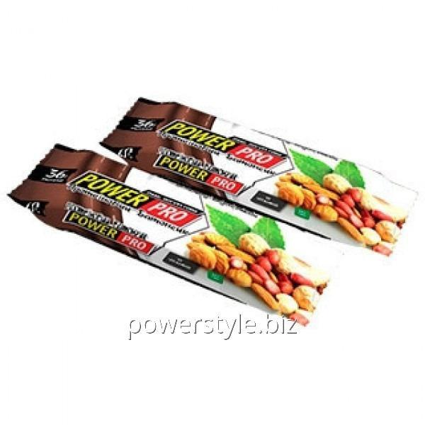 Купить Блок батончиков Power Pro 36% орех Nutella-йогурт (60 грамм) - 20 шт