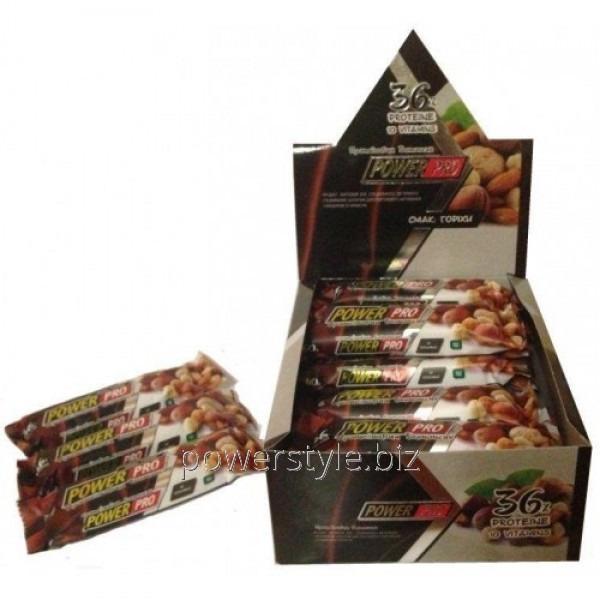 Купить Блок батончиков Power Pro 36% орех Nutella (60 грамм) - 20 шт