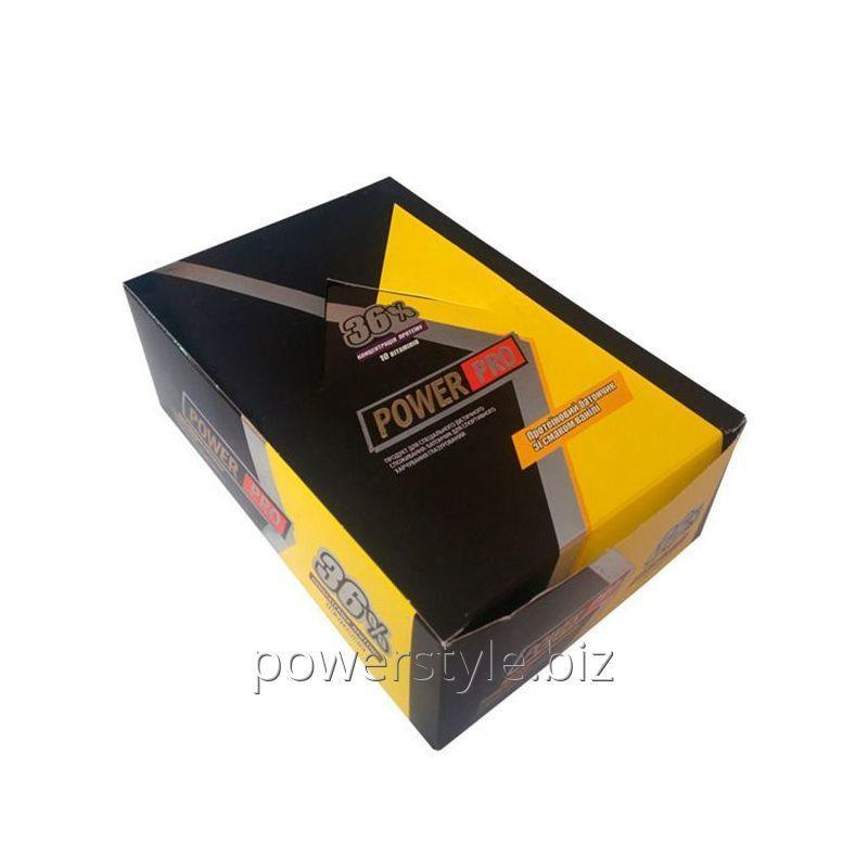 Блок батончиков Power Pro ВАНИЛЬ 36% (60 грамм) - 20 шт