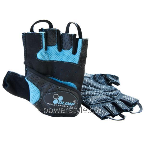 Перчатки Hardcore Fitness STAR Blue