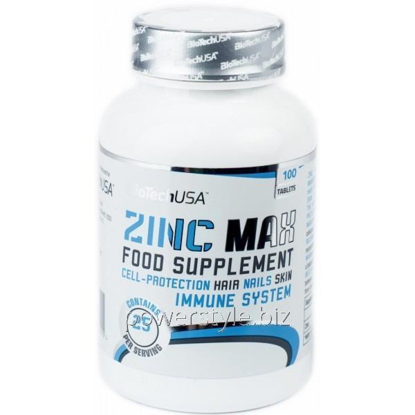 Минералы Zinc MAX (100 таблетс)