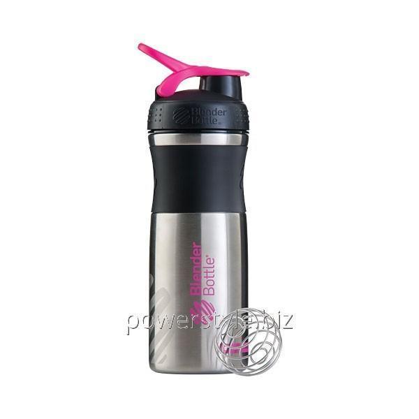 Шейкер SPORTMIXER STAINLESS STEEL (Steel Pink)