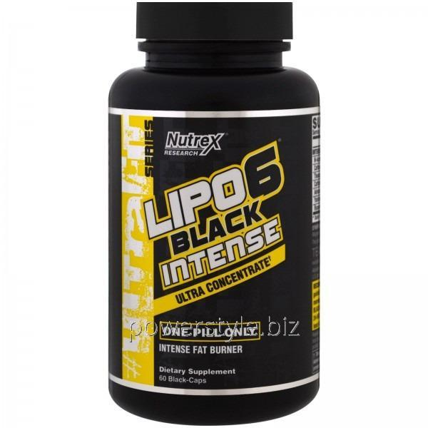 Жиросжигатель Lipo 6 Black Intense Ultra Concentrate (60 капсул)