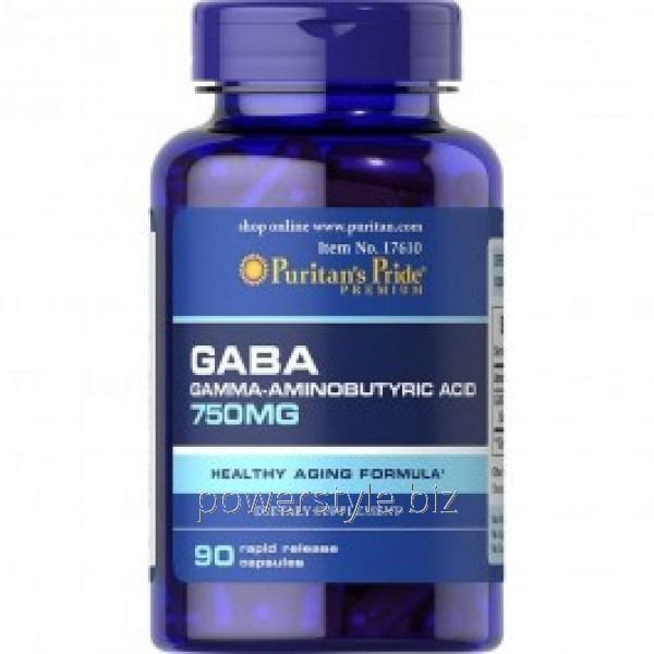 Минералы GABA 750 mg (90 капсул)