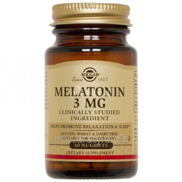 Минералы Melatonin 3 mg (60 таблетс)