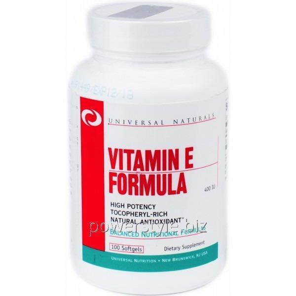 Минералы Vitamin E Formula (100 капсул)