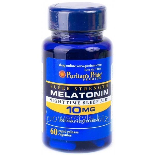 Минералы Melatonin 10 mg (60 капсул)