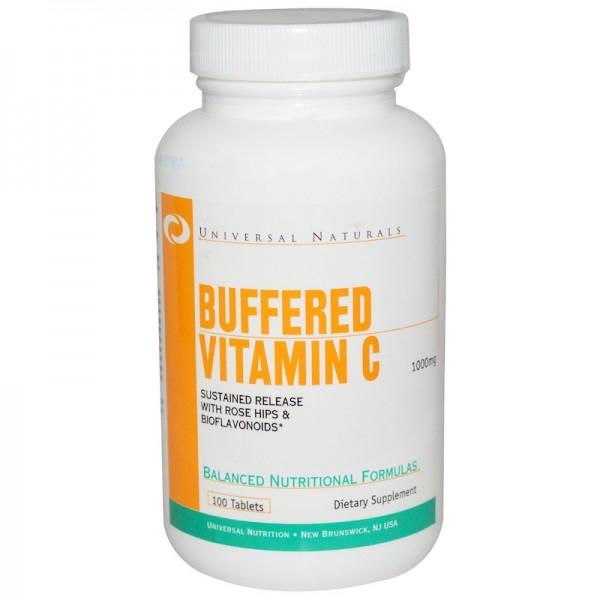 Минералы Buffered Vitamin C (100 таблетс)