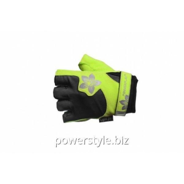 Перчатки для зала РР-1733С (green)