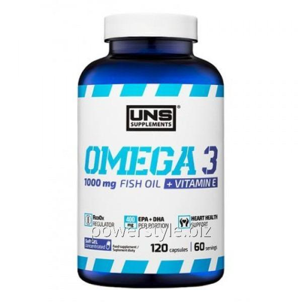 Минералы Omega 3 (120 капсул)