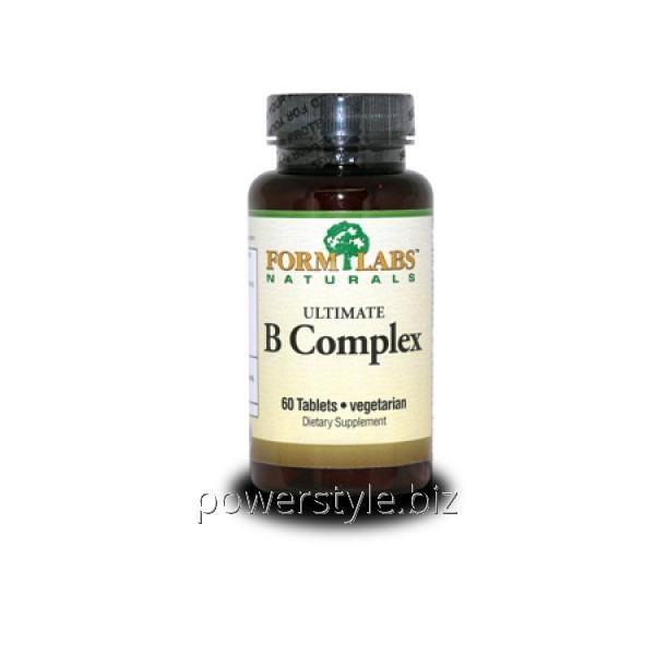 Минералы Ultimate B Complex (60 таблетс)