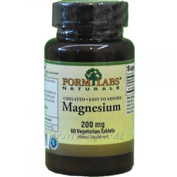 Минералы Magnesium 200 mg (60 таблетс)