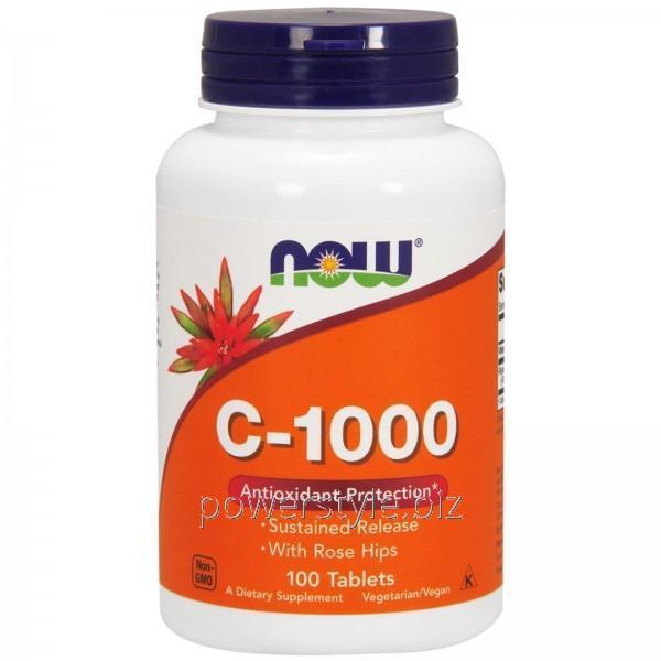 Минералы Vitamin C-1000 (100 таблетс)