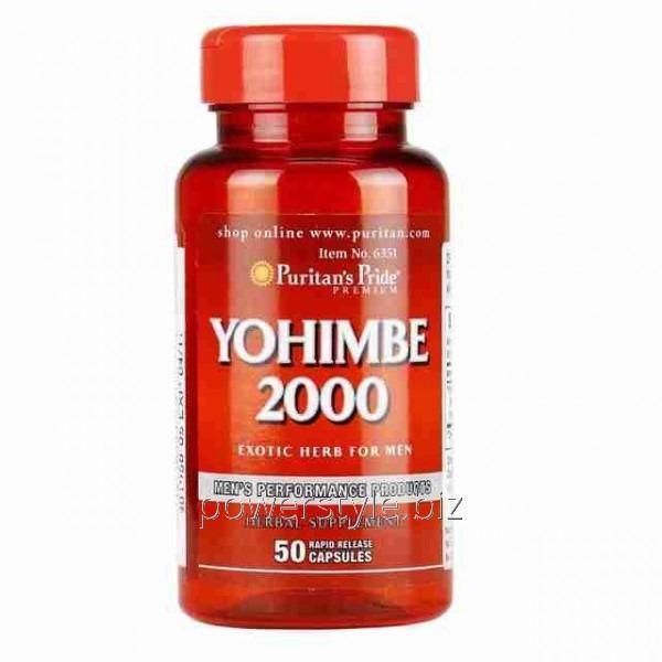 Минералы Yohimbe 2000 mg (50 капсулы)