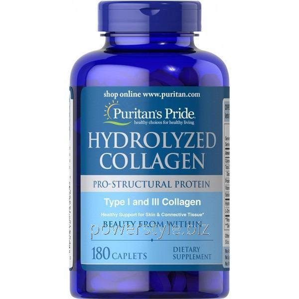 Добавки для спортсменов Hydrolyzet collagen (180 таблетс)