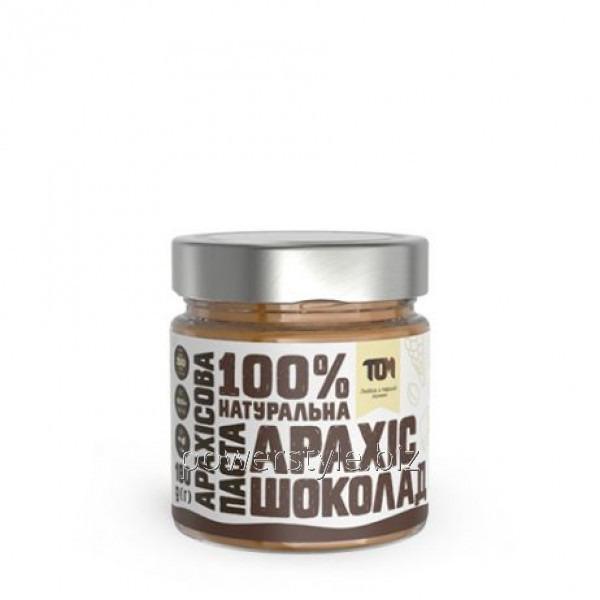 Арахисовая паста С ШОКОЛАДОМ (180 грамм)