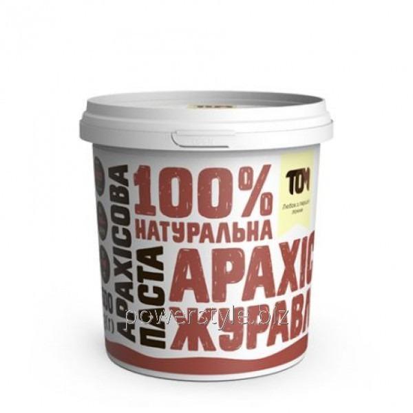 Арахисовая паста С КЛЮКВОЙ (500 грамм)