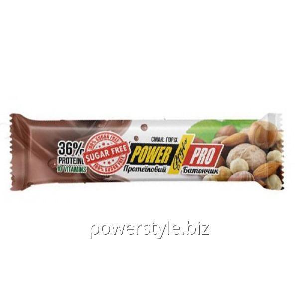 Купить Протеиновый батончик без сахара Nutella Power Pro 32 % Sugar Free 60 г