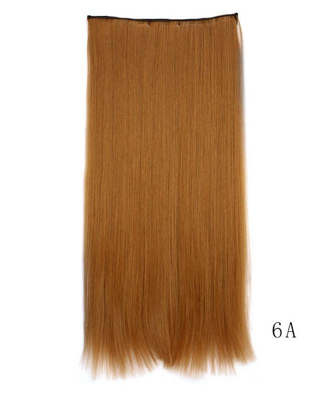 Купить Накладные волосы на клипсах, шиньон, трессы 60 см цвет рыжий 5006/6А