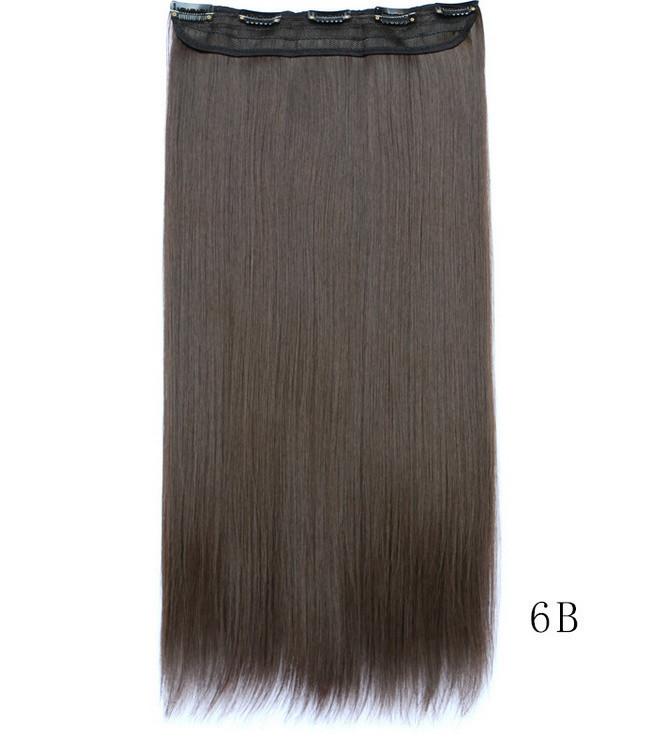 Купить Накладные волосы на клипсах,шиньон, трессы 60 см цвет 5006/6В