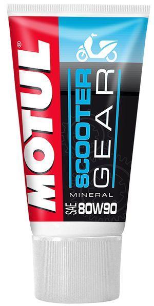 Купить Масло трансмиссионное для скутеров и мопедов Motul SCOOTER GEAR SAE 80W90 (150ML)
