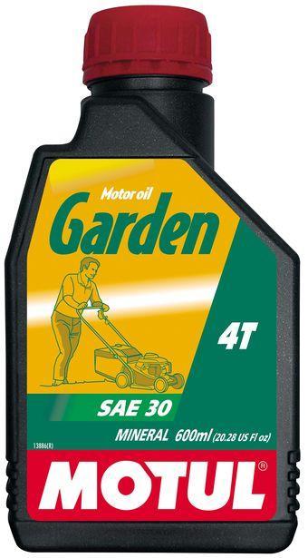 Купить Масло 4-х тактное для малых двигателей сельскохозяйственной техники. Motul GARDEN 4T SAE 30 (0,6L)