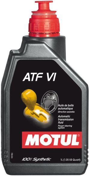 Купить Масло для АКПП и ГУР, масло трансмиссионное и гидровлическое Motul ATF VI (1L)