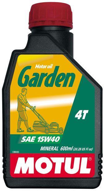 Купить Масло четырехтактное 15w40 для малой сельскохозяйственной техники: SF/CD минеральное GARDEN 4T SAE 15W40 06,L