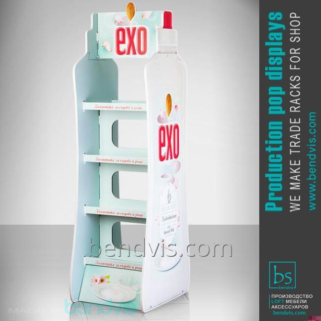 Рекламные стойки EXO