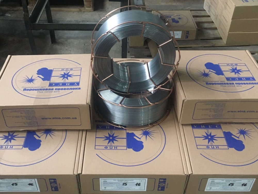 Купить Наплавочная проволока ПП–Нп-15 (аналог ЕSAB OK Tubrodur 15.43)