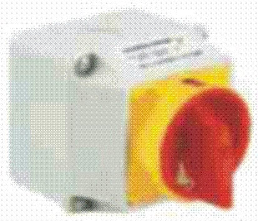 Выключатель пакетный кулачковый, АВАРИЙНЫЙ, ГЛАВНЫЙ, 32А, в защитном корпусе. Тип LKSM, СМАРТ, Польша