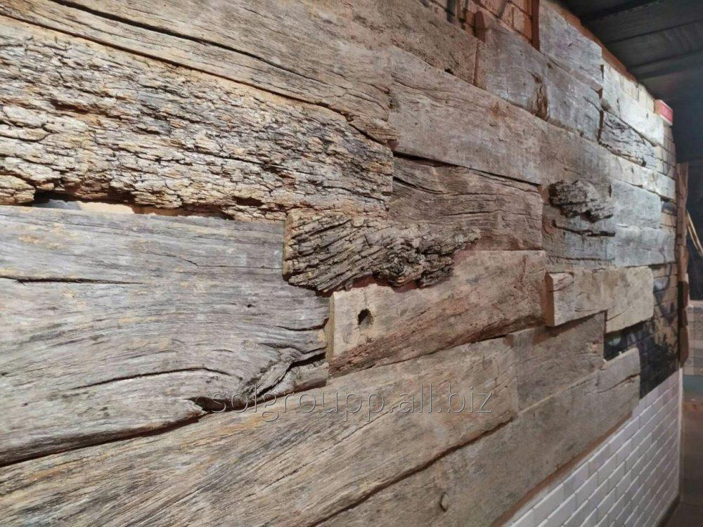 Купить Панели деревянные из ретро древесины
