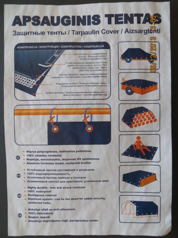 Buy Awnings tarpaulin