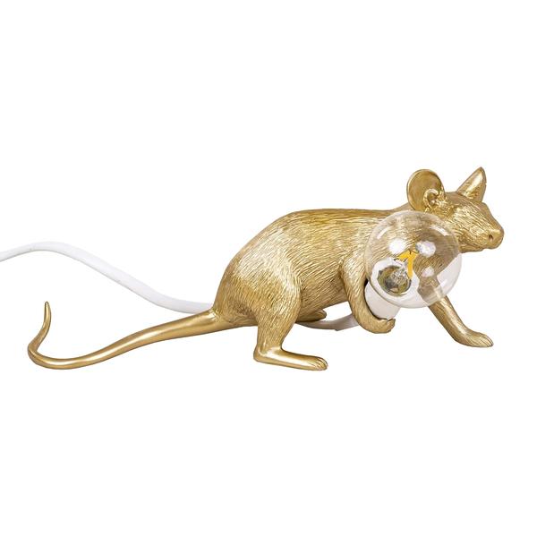 Купить Настольный светильник MOUSE LAMP LYIE DOWN- SELETTI