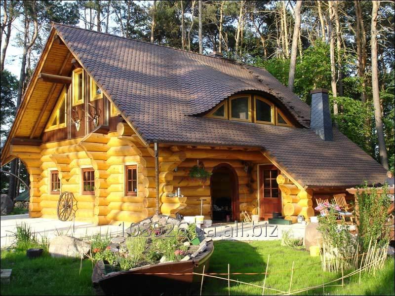 Деревянные дома в сруб из бревна и