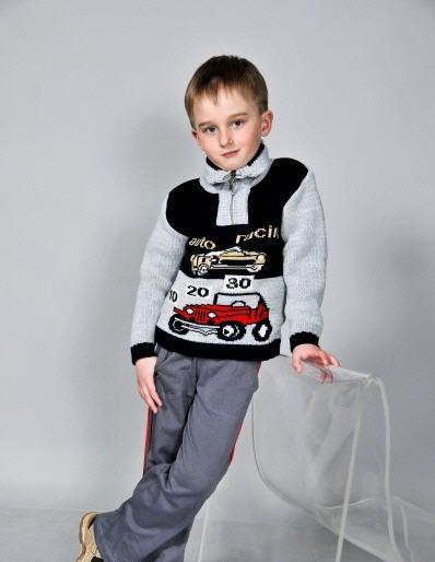 В язані светри для хлопчиків.Дитячий одяг купити в Харків 3568a316f17ae