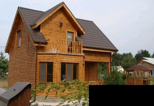 Коттедж деревянный