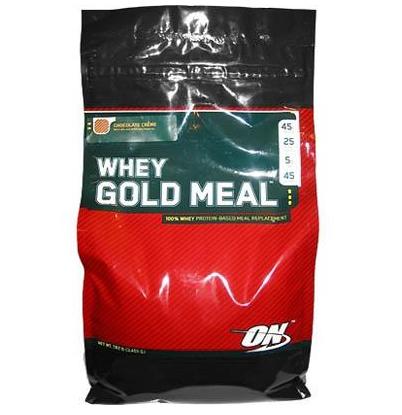 Купить Заменители пищи, питание спортивное Whey Gold Meal 3,447 кг