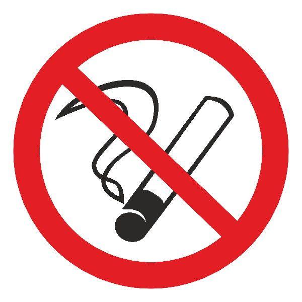 Купить Знак Запрещается курить d-150 мм с-к пленка