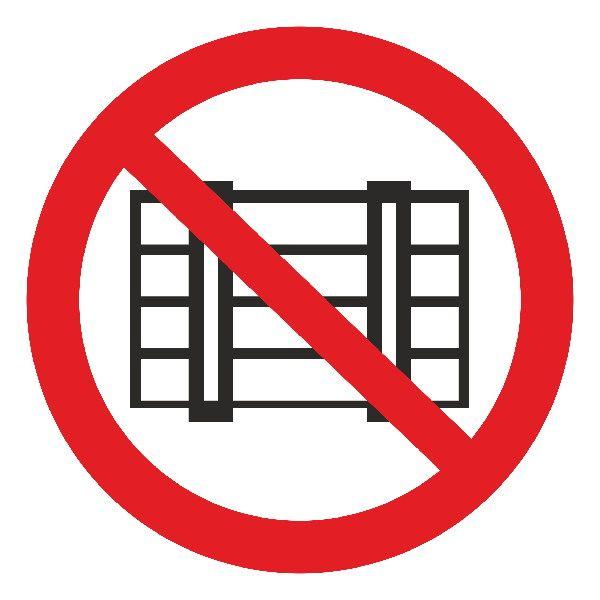 Купить Знак Не загромождать d-150 мм с-к пленка