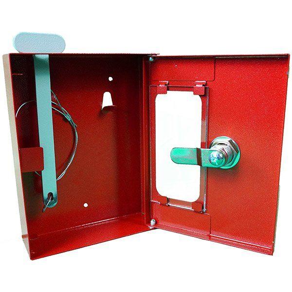 Купить Ключница пожарная под 1 ключ (с молоточком)