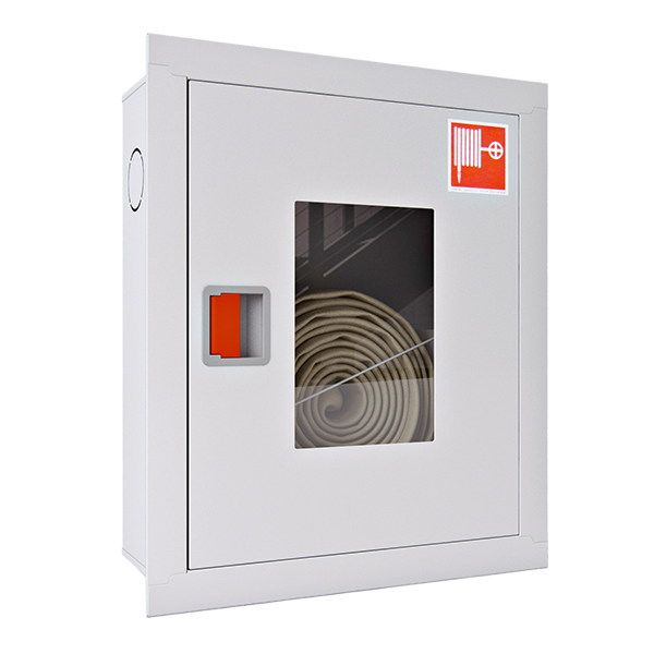 Купить Шкаф пожарный ШПК-310 ВО встроенный без задней стенки 650х540х230мм