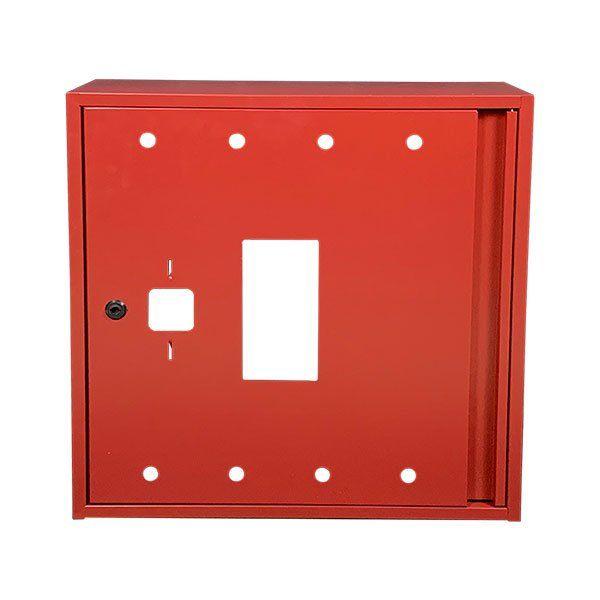 Купить Шкаф пожарный ШП 6060 У навесной, без задней стенки, без кассеты, Красный, 600х600х230