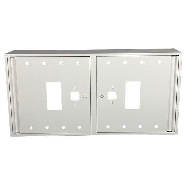 Купить Шкаф пожарный ШП 12060 У навесной, без задней стенки, без кассеты, Белый, 1200х600х230
