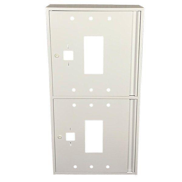 Купить Шкаф пожарный ШП 60120 У навесной, без задней стенки, без кассеты, Белый, 600х1200х230